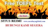 CLICK FREE TOEFL Online Practice Test